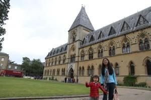 オックスフォード大学自然史博物館にて